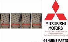 99 06 Mitsubishi Lancer Outlander Galant Alum Wheel Center Cap Springs NEW OEM