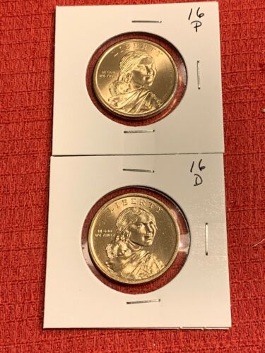 2016 P/&D Sacagawea Dollar uncirculated