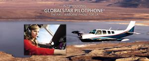 Globalstar-1700-STC-039-d-Light-Aircraft-Aviation-Satellite-Phone
