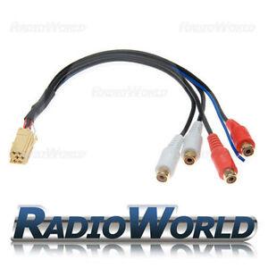 Blaupunkt-Rca-Pre-Out-Adaptador-Cable-de-plomo-7-607-893-093