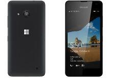 Marca nuevo Microsoft Nokia Lumia 550 4G Sim libre negro desbloqueado 8GB 5MP de cuatro núcleos