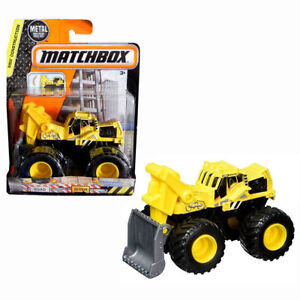 Image Is Loading WORK READY MONSTER TRUCK MBX CONSTRUCTION CITY SCOOP