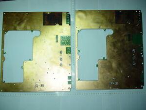 1 PCS GOLD PLATED  BOARD GOLD  SCRAP RECOVERY TELECOMMUNICATION .