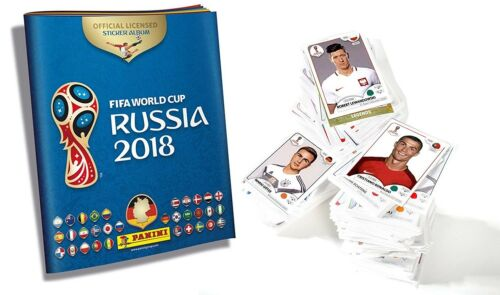 PANINI WM 2018 50 Sticker scegliere MC DONALDS GLITTER World Cup 18