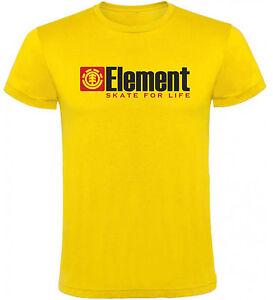 Camiseta-Element-skate-for-life-Hombre-varias-tallas-y-colores