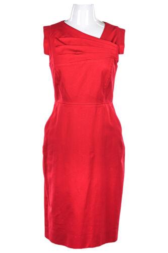 J. Crew Women Dresses Bodycon 8 Red Cotton