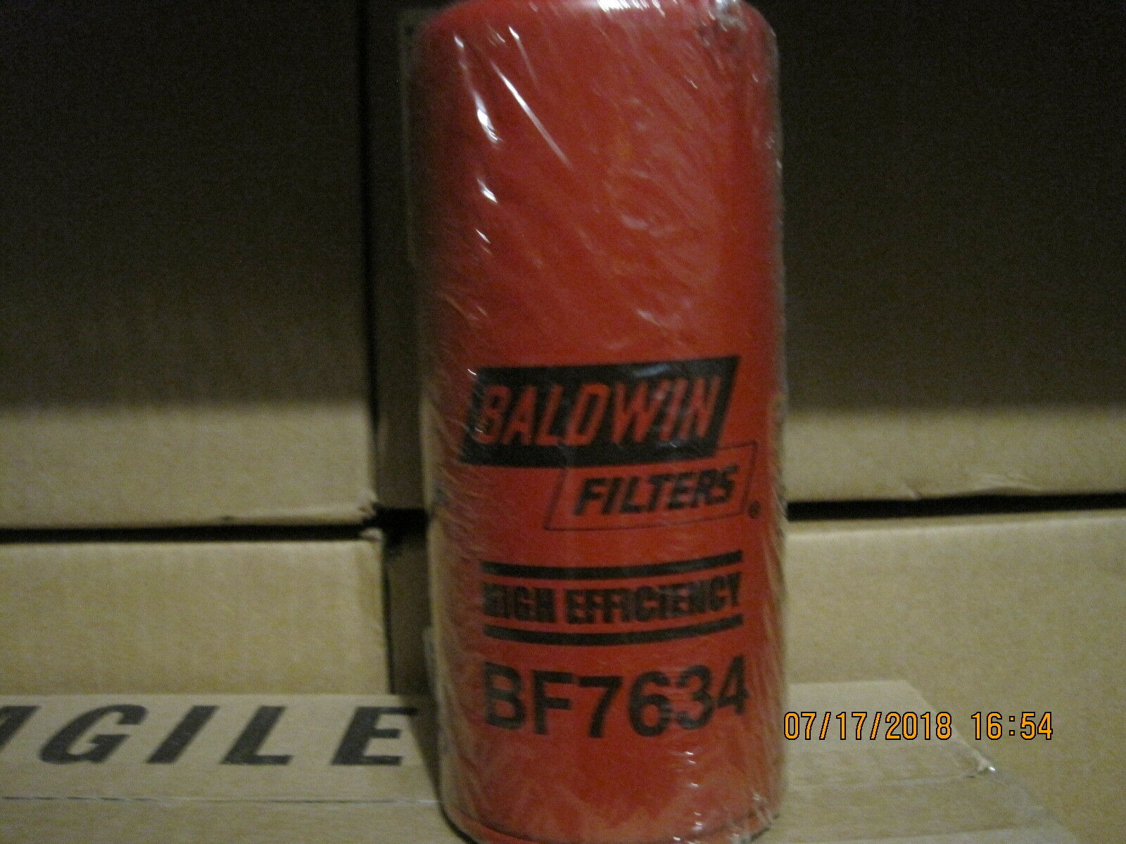 Pureflow Replacement Fuel Filter by Baldwin BF7634 replaces FF100 AirDog