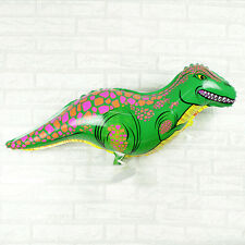 Green Dinosaur Balloons Walking Balloon Children Birthday Party Decoration PW