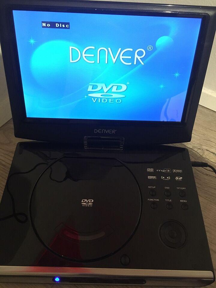 Dvd-afspiller, kodefri, Denver