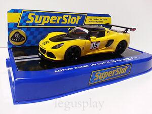 Slot-SCX-Scalextric-Superslot-H3509-Lotus-Exige-V6-Cup-R-Orange-N-15
