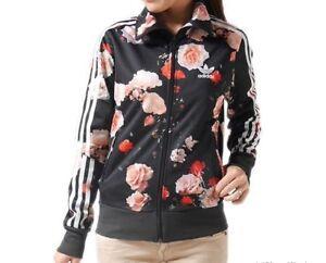Adidas Originals Firebird ROSE Flower Print Track Top Jacket