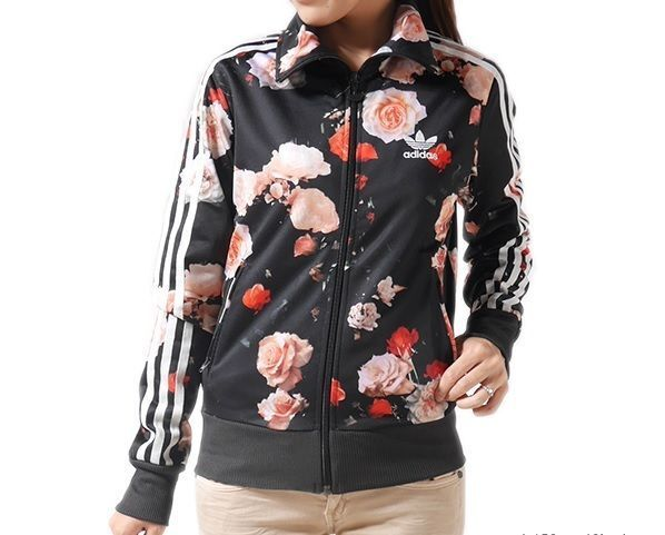 adidas Originals Farm Womens Floral Bananas Supergirl Track