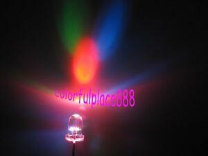 20pcs-3mm-Colorful-Slow-Flashing-Flash-RGB-Red-Green-Blue-LED-Leds-Light-Lamp