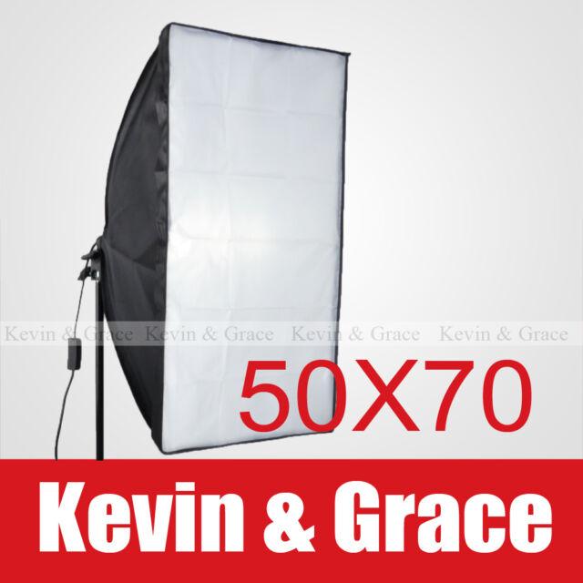 "20"" x 28"" 50 x 70cm Photo Video Studio Light Lamp Bulb Tube Softbox Soft box E27"