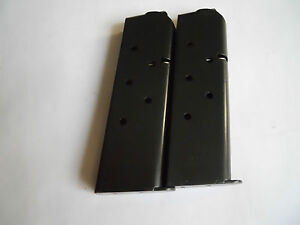 1911-type-mag-magazine-mags-2-BLUE-Steel-8-shot-USA-NEW-45-cal