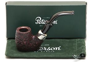 Peterson-Standard-Rustic-306-Tobacco-Pipe-Fishtail