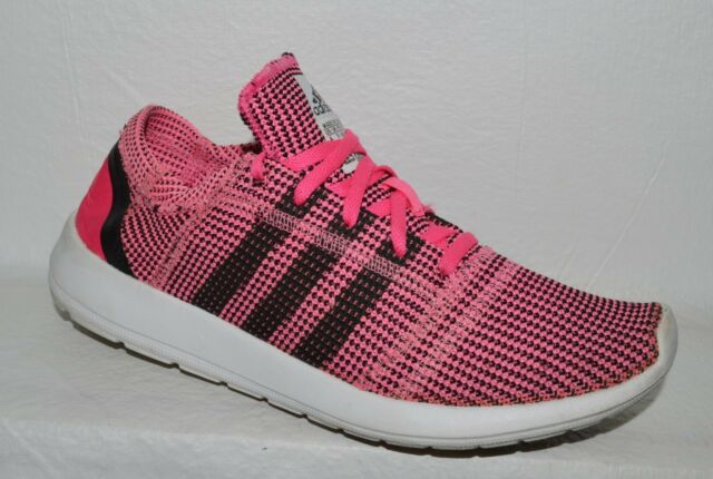 a093699c2ae3 ADIDAS RUN NATURAL WOMEN S SZ 9 M PINK MESH KNIT LIGHT RUNNING SHOES  SNEAKERS