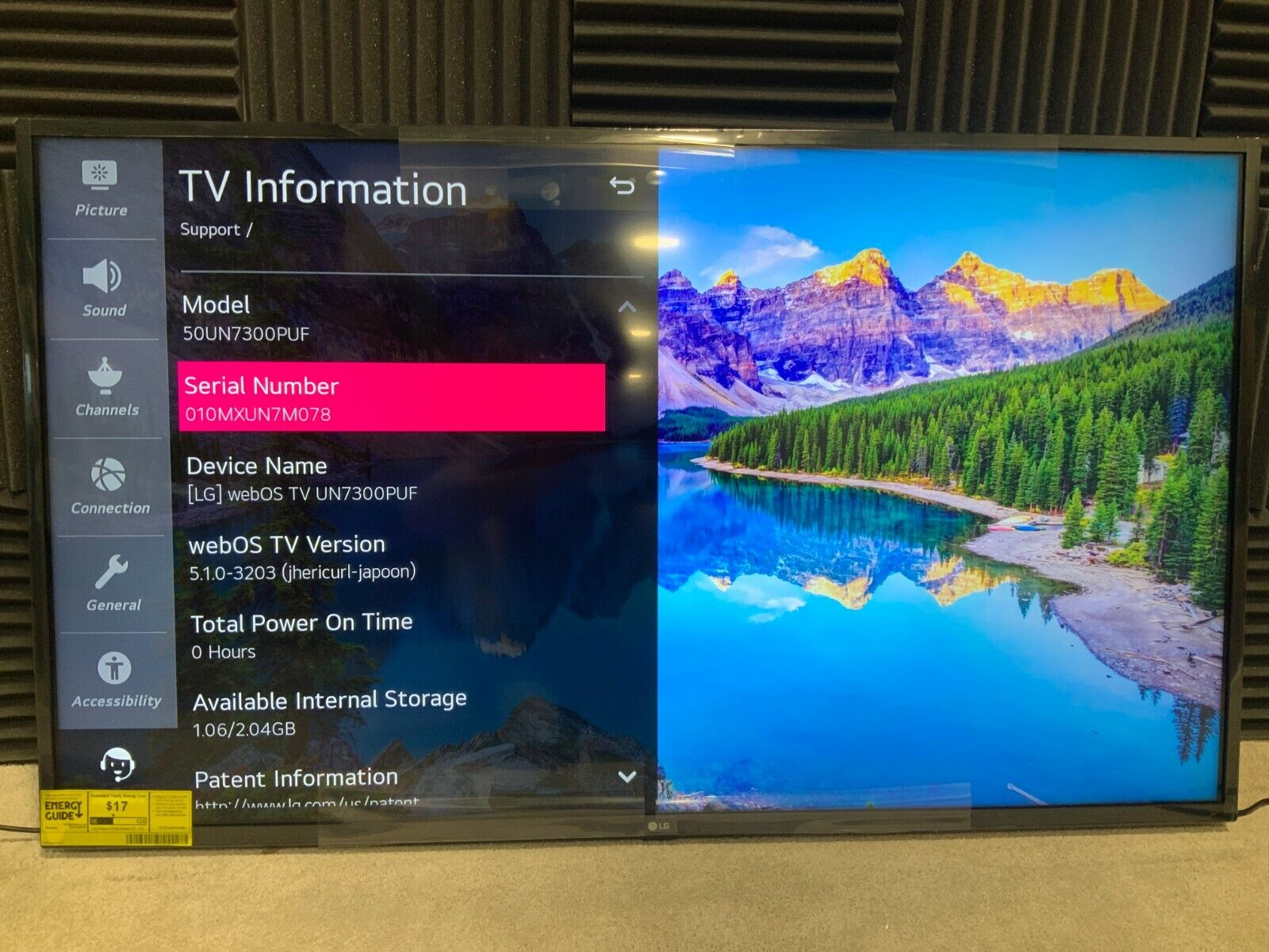 LG Electronics 50 LED LCD Smart TV (4K) 50UN7300PUF  ✅❤️️✅❤️️. Available Now for 359.99