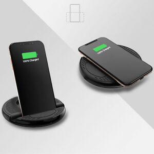 handy ladestation wireless charger drahtlos auto ladeger t f r iphone x 8 8plus ebay. Black Bedroom Furniture Sets. Home Design Ideas