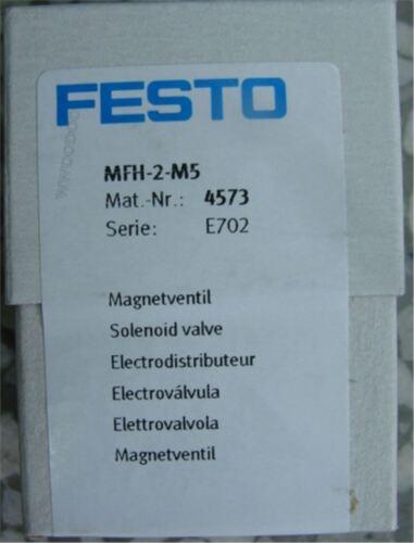 1Pc NUEVO FESTO MFH-2-M5 4573 Solenoide Válvula RK