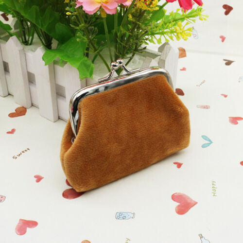 Womens Change Coin Purse Small Clutch Wallet Key ID Card Holder Mini Pouch Bags