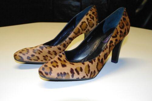 cuir léopard en Ralphsz 5magnifique119 imprimé Nouveau talons Lauren 9 QdtsrhCxB
