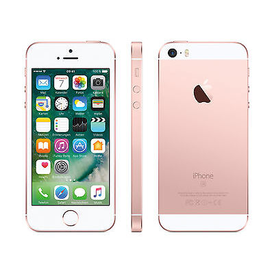 Apple iPhone SE - 32GB - Rosegold - (ohne SIM-Lock) - WOW - Händler