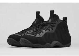 dae87793730 CLEAN Nike Air Foamposite One Premium Triple Black Suede Size 9.5 ...
