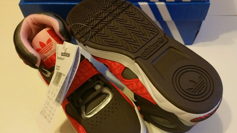 quality design 1fd0f e54c9 Adidas Originals Womens Roundhouse Hi-Tops GreyRedBrown Red - UK5.5 Euro  38.5  eBay