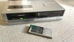 Sony-SL-HF100ES-Betamax-110v-240v-Beta-reformado-con-Control-Remoto-Original