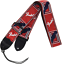 Fender Guitar Strap Monogrammed 2/'/' Red Blue White
