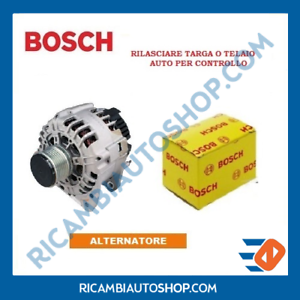 ALTERNATORE-BOSCH-PEUGEOT-1007-206-CC-SW-TRE-VAN-206-207-3008-307-BREAK-308-406