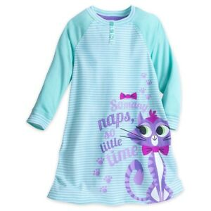 New-Disney-Store-Toddler-Girl-2-Hissy-Cat-Puppy-Dog-Pals-Nightgown-Long-Sleeve