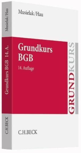 1 von 1 - Grundkurs BGB von Hans-Joachim Musielak und Wolfgang Hau (2015, Taschenbuch)