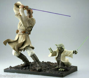 Star Wars Yoda Mace Windu 2 Figurines Pvc Snap-fit ​​échelle 1: 7 Cubble