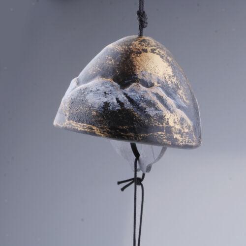 Japanische Furin Wind Chime Nambu Gusseisen Iwachu Bell Garten Dekor Bronze