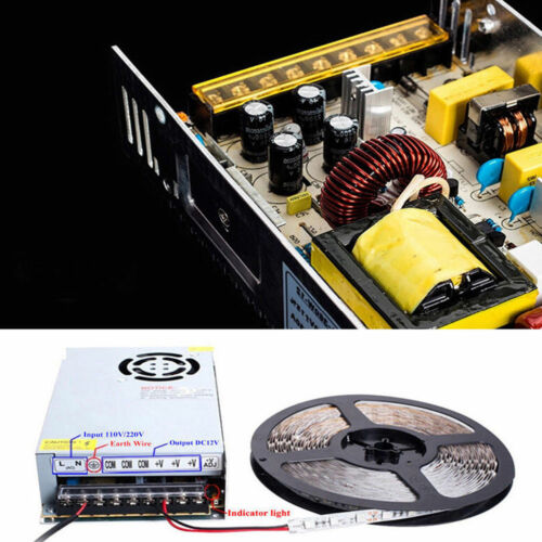 AC 110V 220V bis DC 5V 12V 24V LED-Schaltnetzteil Treiberadapter für Strip Light