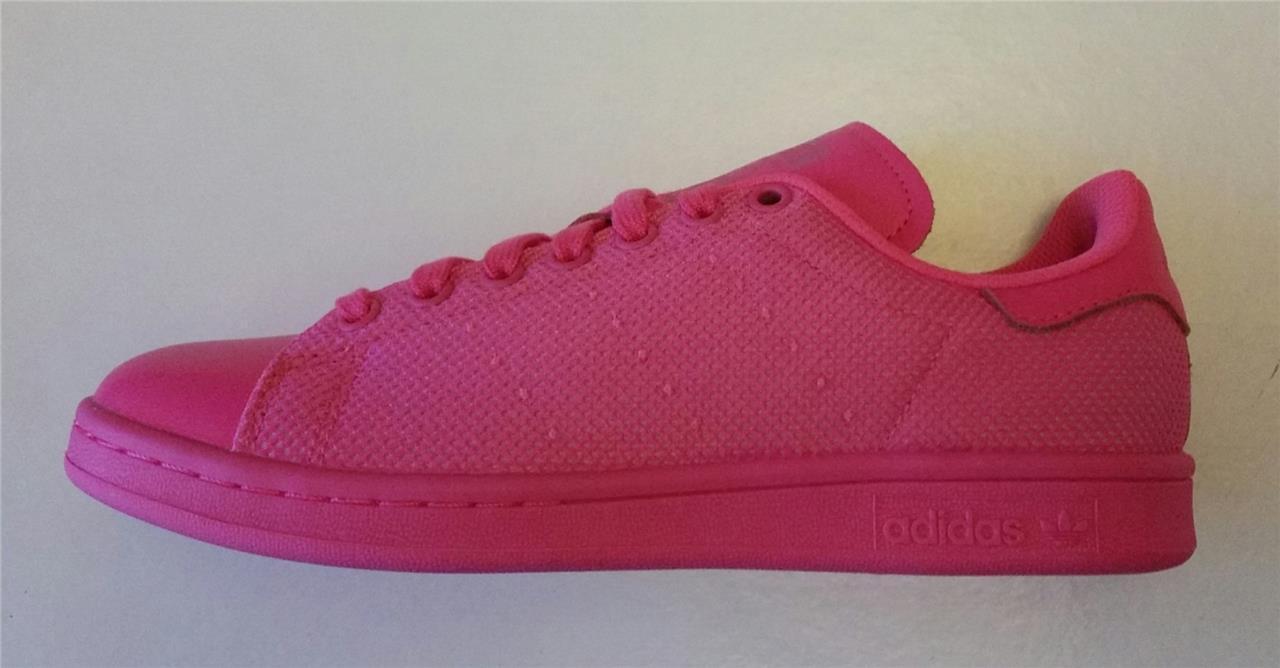 Adidas femmes stan smith chaussures trainer running solar rose new bb4997 uk 5.5