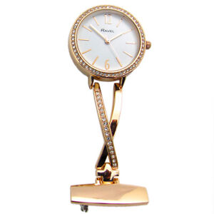 Ravel-Nurse-or-Beauticians-Diamante-Fob-Brooch-Uniform-Watch-Rose-Gold-R1106-04