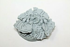 Resin-Scenic-Base-Acient-Ruines-With-Dreadnought-Feet-60mm-B94