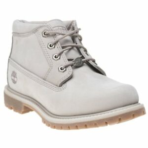 Chukka Nubuck Boots mujer para tobillo Lace gris Timberland Nellie natural Up Nueva qx8E01YZnw