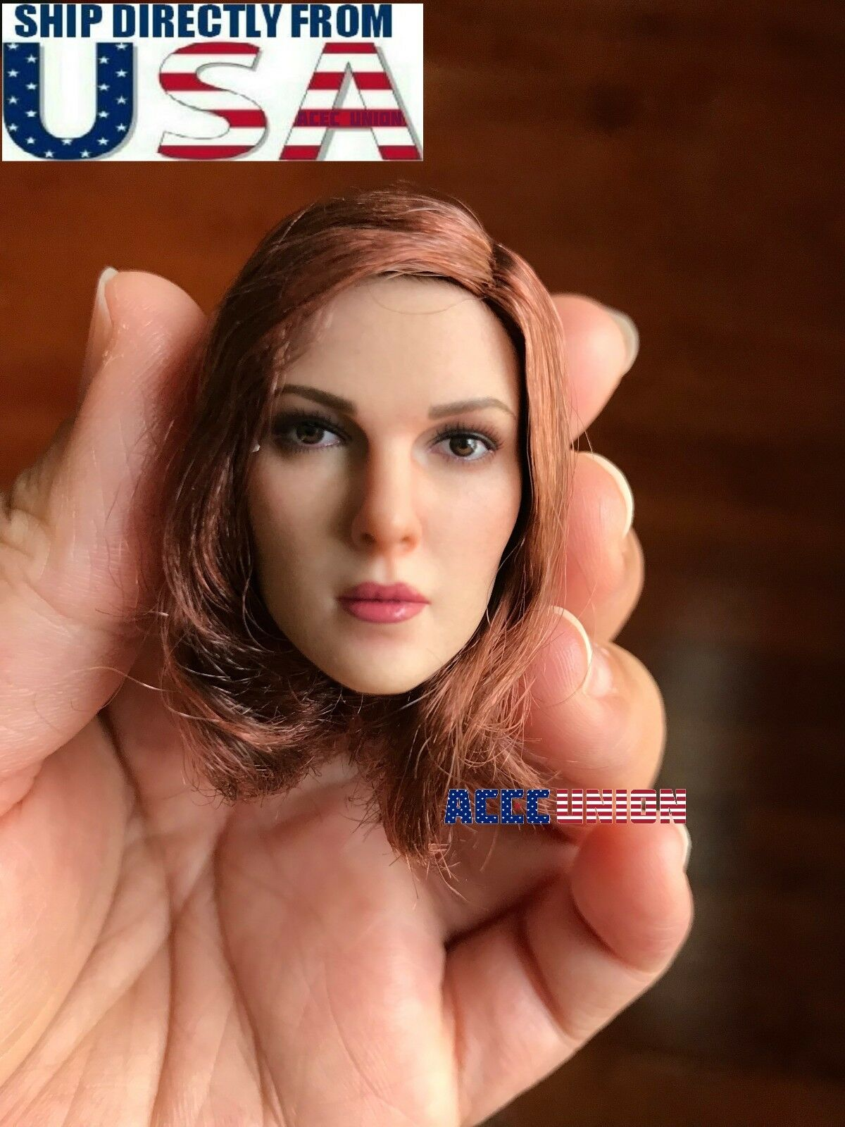 1 6 Female PALE Head Sculpt Short Hair A For For For 12  PHICEN VERYCOOL Figure USA cc18d5