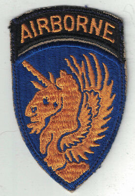 Patch US 13th AIRBORNE WWII ORIGINAL