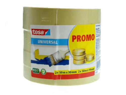 Tesa 4er Bonuspack Universal Malerkreppband Malerband Kreppband Krepp