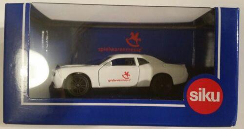 colección juguetes feria Toy Fair 2018 Dodge Challenger Siku OVP