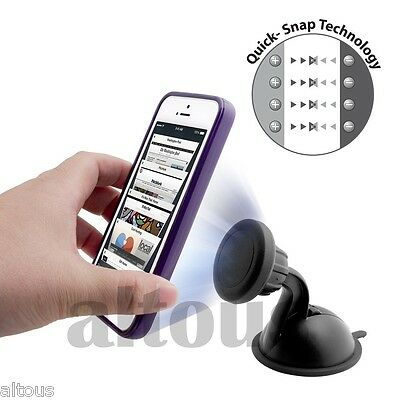 NEW UNIVERSAL MAGNET CAR WINDSHIELD DASHBOARD MOUNT HOLDER CELL PHONE GPS MP3
