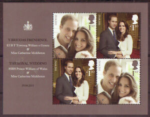 GREAT-BRITAIN-2011-WILLIAM-AND-KATE-ROYAL-WEDDING-MS-UNMOUNTED-MINT-MNH
