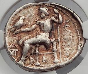 SELEUKOS-I-Nikator-SELEUKID-Ancient-Silver-Greek-Tetradrachm-Coin-NGC-i59985
