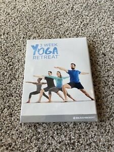beachbody on demand 3 week yoga retreat dvd set new