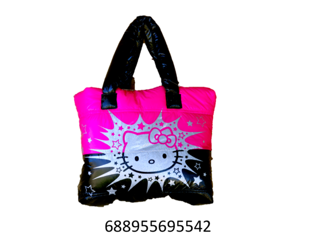 Sanrio Hello Kitty Puffy Shoulder Purse Bag for Girls Teens or Women ... 4c699656492f1